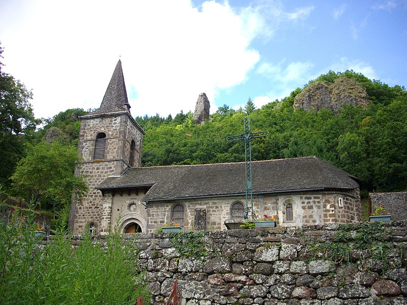 Photo du Monument Historique Eglise Saint-Pardoux situé à Laroquevieille