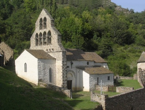 Photo du Monument Historique Eglise Saint-Blaise situé à Leyvaux