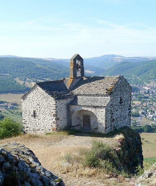 Photo du Monument Historique Chapelle de pélerinage Sainte-Madeleine de Chalet situé à Massiac
