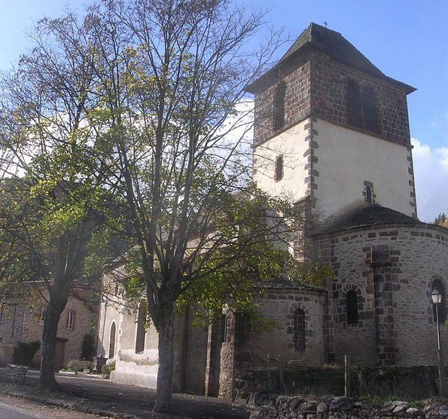 Photo du Monument Historique Eglise Sainte-Foix ou Sainte-Foy situé à Molompize