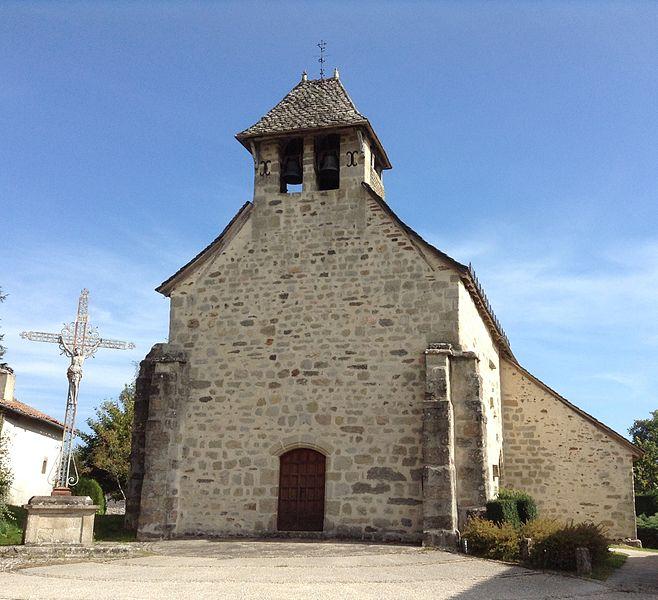 Photo du Monument Historique Eglise Saint-Géraud situé à Montvert