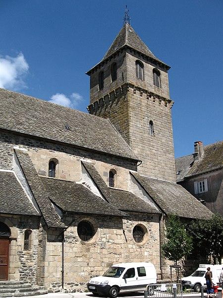 Photo du Monument Historique Eglise Saint-Sauveur situé à Pleaux