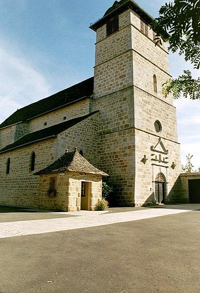 Photo du Monument Historique Eglise Saint-Martin situé à Rouffiac