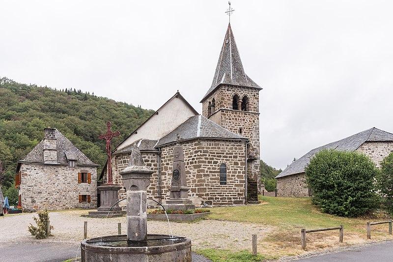 Photo du Monument Historique Eglise Saint-Etienne situé à Saint-Amandin