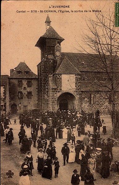 Photo du Monument Historique Eglise Saint-Cernin situé à Saint-Cernin