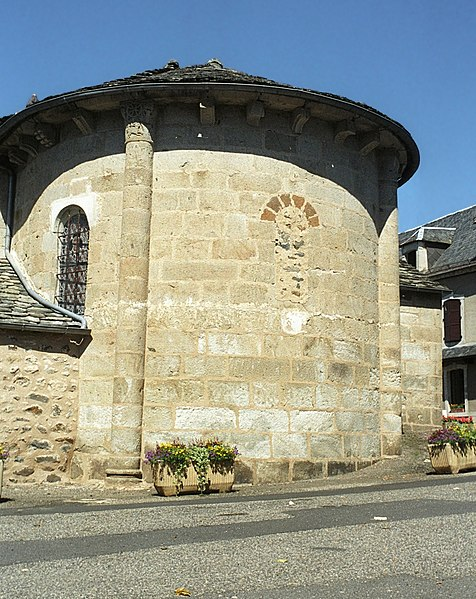 Photo du Monument Historique Eglise Saint-Etienne situé à Saint-Etienne-de-Chomeil