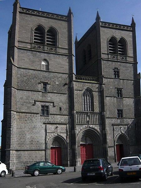 Photo du Monument Historique Cathédrale Saint-Pierre situé à Saint-Flour