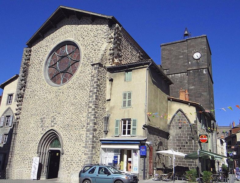 Photo du Monument Historique Ancienne église Notre-Dame situé à Saint-Flour