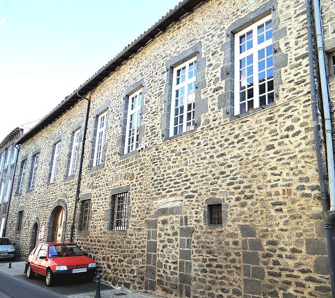 Photo du Monument Historique Hôtel de Lastie situé à Saint-Flour
