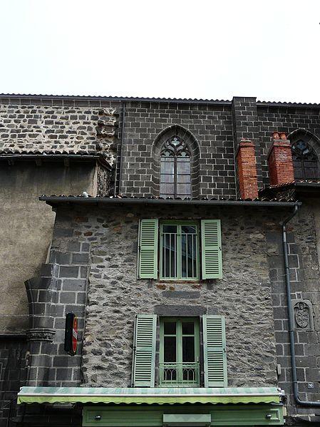 Photo du Monument Historique Immeuble situé à Saint-Flour