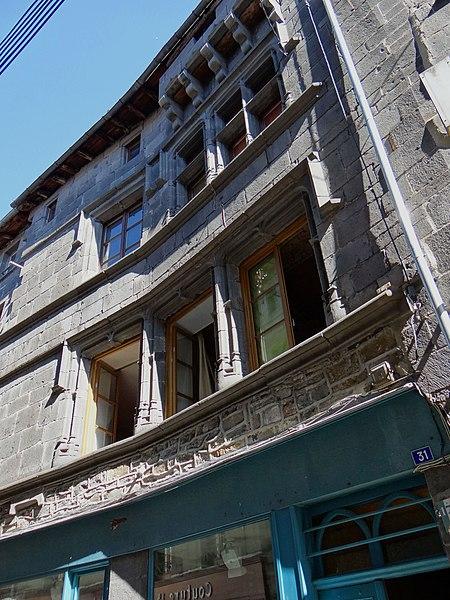 Photo du Monument Historique Maison du Gouverneur situé à Saint-Flour