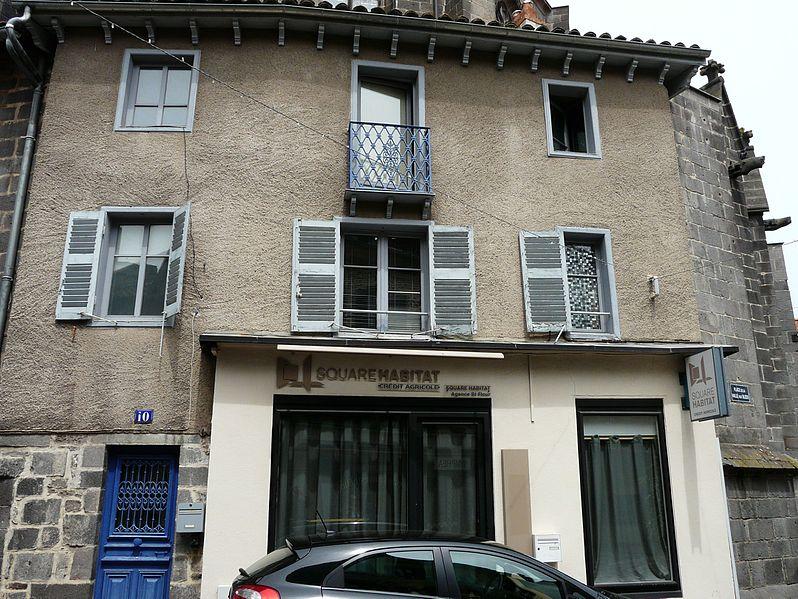 Photo du Monument Historique Maison situé à Saint-Flour