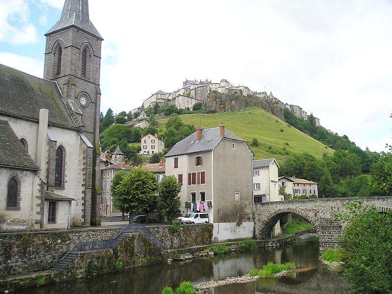 Photo du Monument Historique Pont Vieux sur l'Ander situé à Saint-Flour