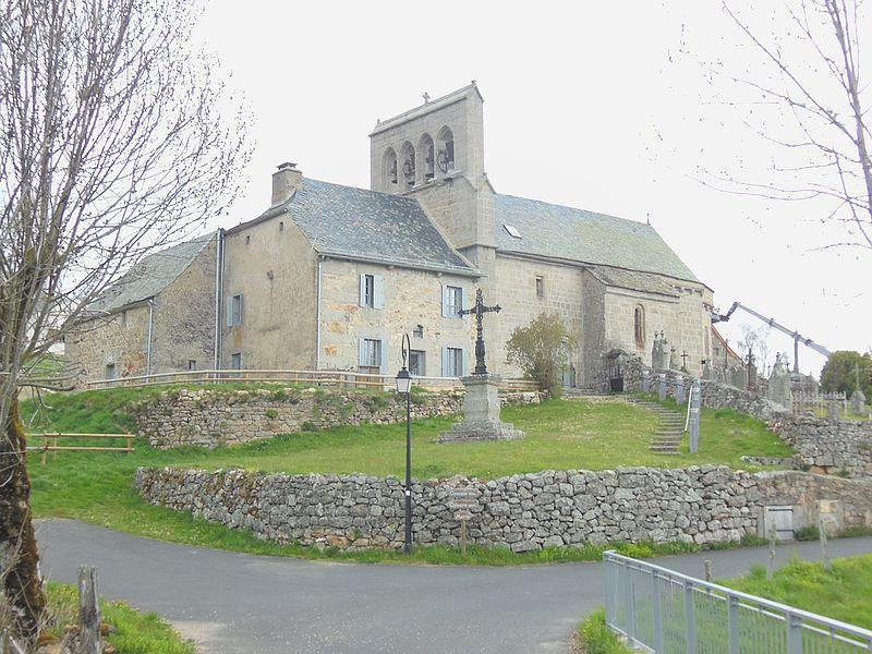 Photo du Monument Historique Eglise Saint-Rémi situé à Saint-Rémy-de-Chaudes-Aigues