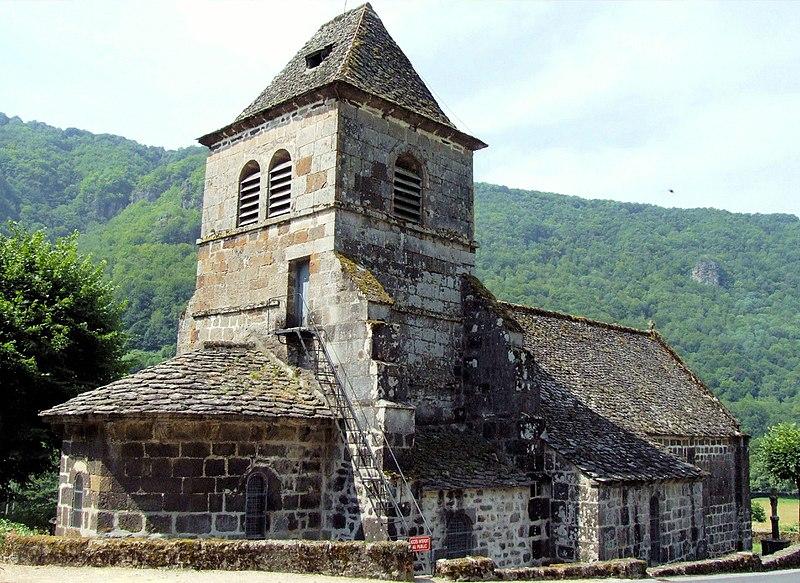 Photo du Monument Historique Eglise Saint-Vincent situé à Saint-Vincent-de-Salers