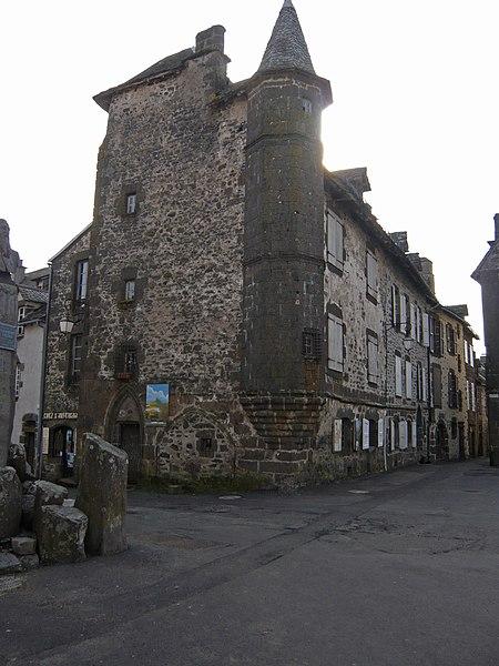 Photo du Monument Historique Maison de Flogeac situé à Salers
