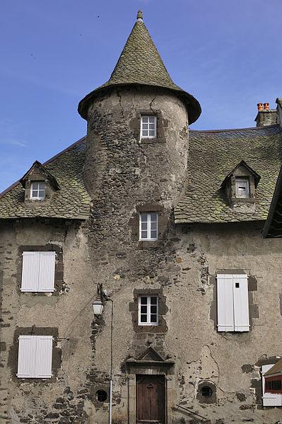 Photo du Monument Historique Maison Bertrandy situé à Salers