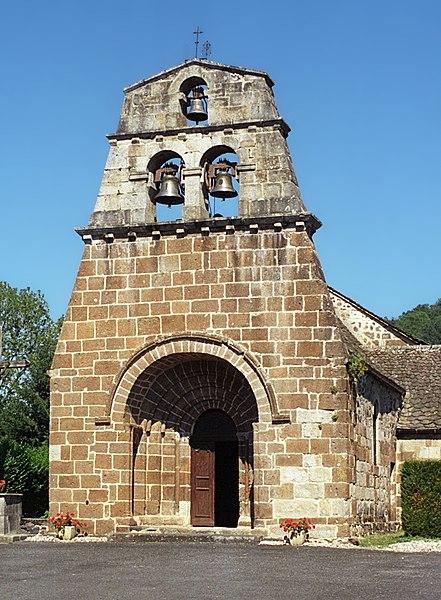 Photo du Monument Historique Eglise Saint-Martin situé à Sauvat