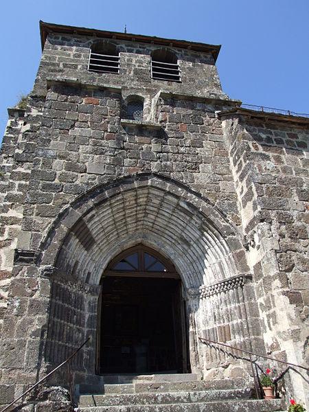 Photo du Monument Historique Eglise Saint-Jean-Baptiste situé à Tournemire