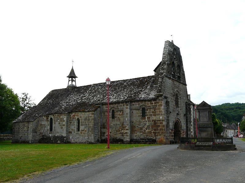 Photo du Monument Historique Eglise Saint-Maurice-et-Saint-Louis£ situé à Vebret