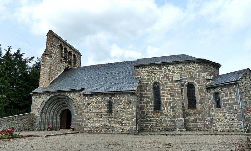 Photo du Monument Historique Eglise Saint-Jean-Baptiste situé à Vernols