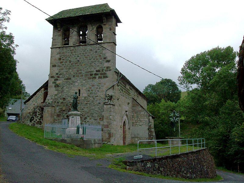 Photo du Monument Historique Eglise Saint-Clément situé à Saint-Clément