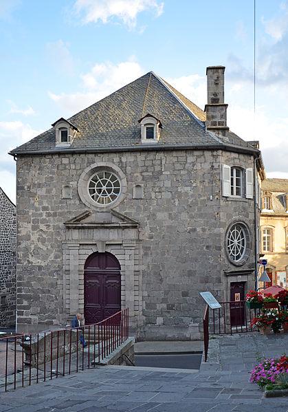 Photo du Monument Historique Ancien tribunal situé à Murat
