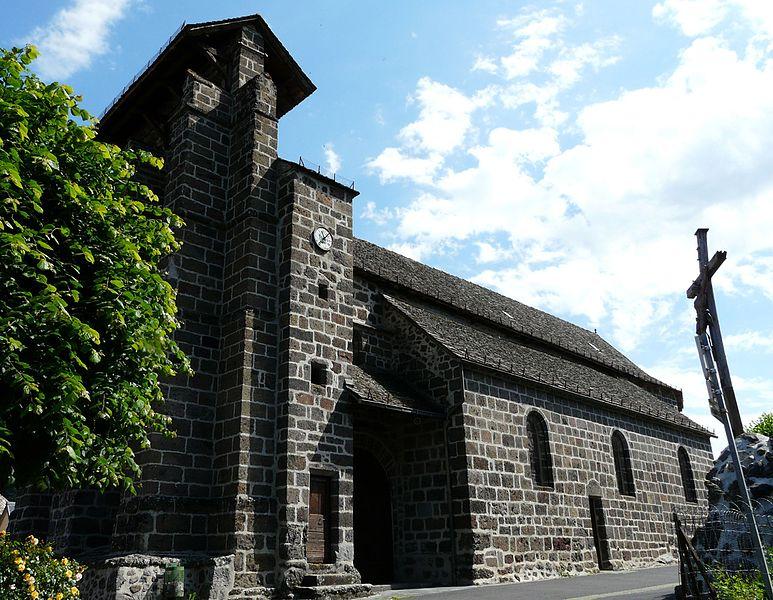 Photo du Monument Historique Eglise Saint-Saturnin situé à Marmanhac