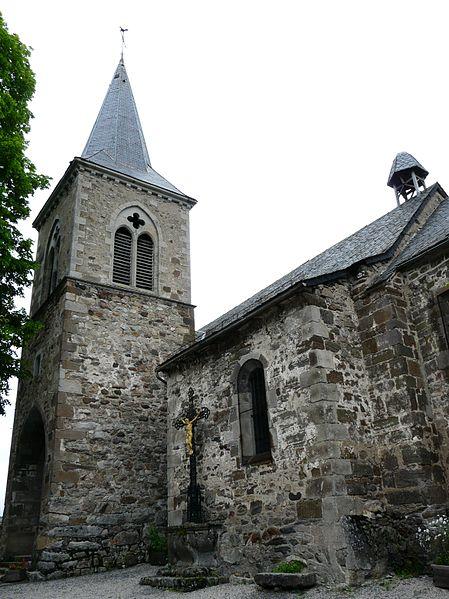 Photo du Monument Historique Eglise Sainte-Croix et Saint-Pierre situé à Marchastel