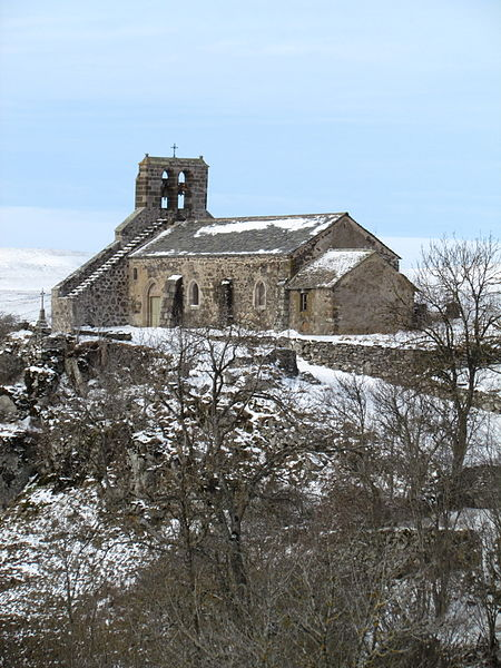 Photo du Monument Historique Eglise Saint-Roch de Fortuniès situé à Dienne