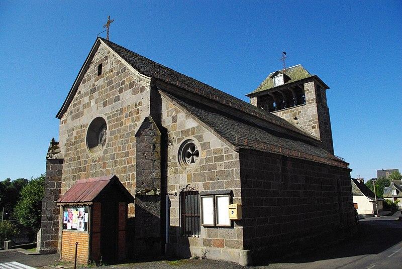 Photo du Monument Historique Eglise Saint-Saturnin situé à Paulhenc