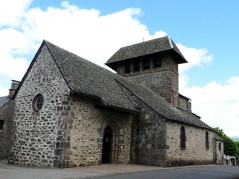 Photo du Monument Historique Eglise Saint-Bonnet situé à Saint-Bonnet-de-Salers