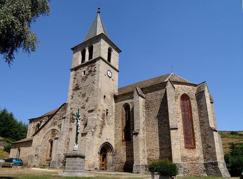 Photo du Monument Historique Eglise Saint-Blaise et Saint-Martin situé à Chaudes-Aigues