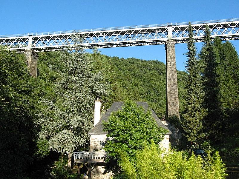 Photo du Monument Historique Viaduc du Mars situé à Jaleyrac