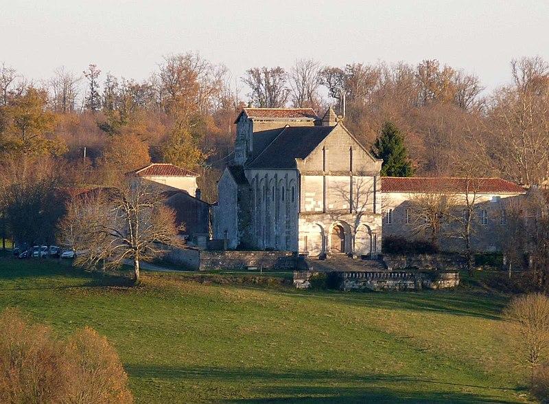 Photo du Monument Historique Ancienne abbaye de Puypéroux situé à Aignes-et-Puypéroux