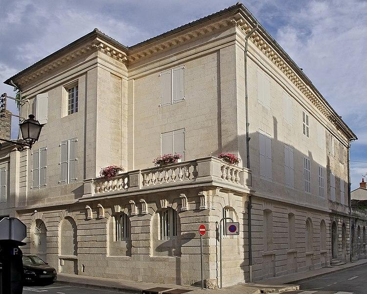Photo du Monument Historique Immeuble situé à Angoulême