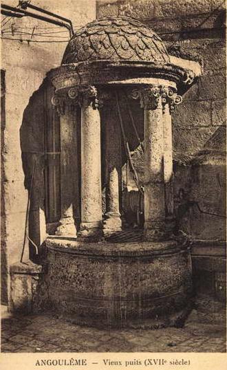 Photo du Monument Historique Vieux puits situé à Angoulême