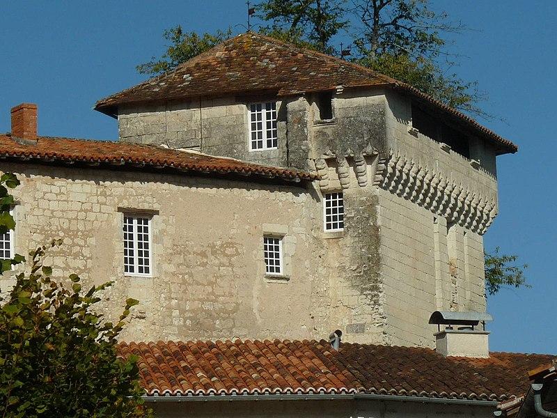 Photo du Monument Historique Château situé à Aubeterre-sur-Dronne
