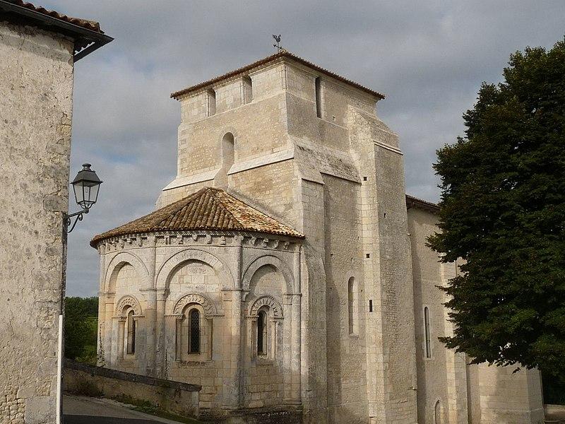 Photo du Monument Historique Eglise Saint-Pardoux situé à Barret
