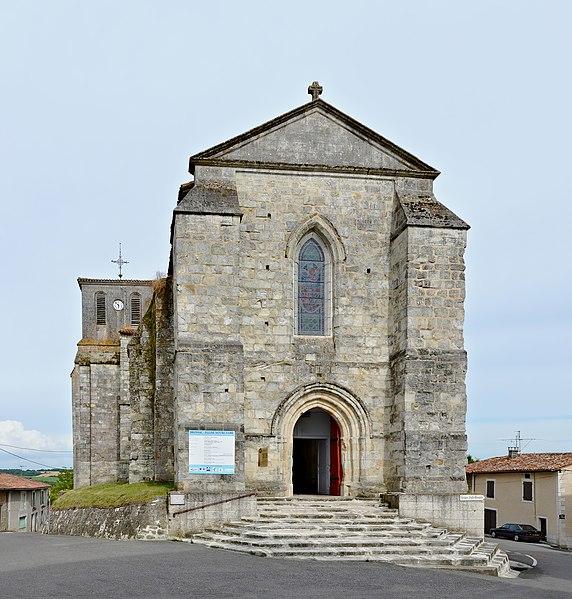 Photo du Monument Historique Eglise Notre-Dame situé à Brossac