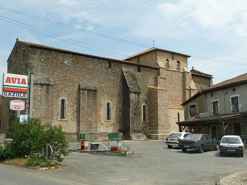Photo du Monument Historique Eglise Notre-Dame situé à Chabrac
