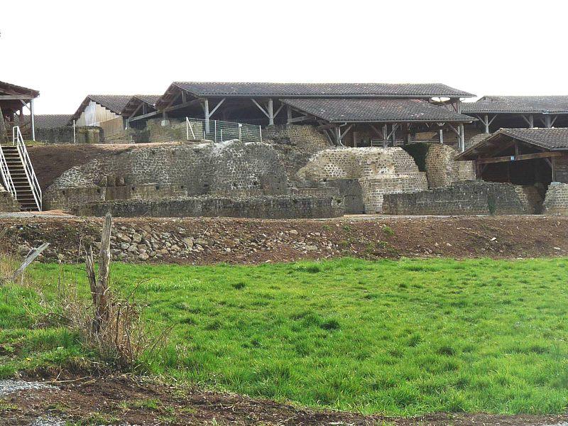 Photo du Monument Historique Centre rural gallo-romain (vestiges archéologiques) situé à Chassenon