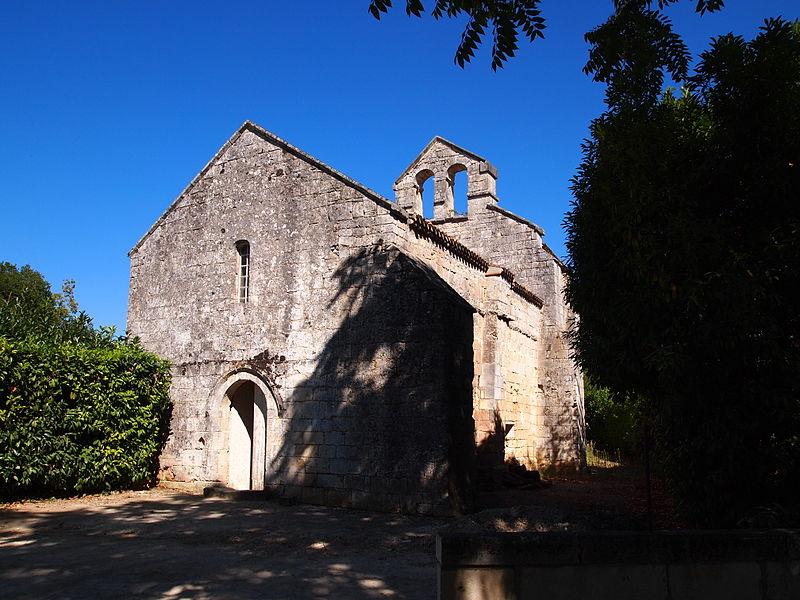 Photo du Monument Historique Ancienne église de Saint-Surin situé à Châteauneuf-sur-Charente