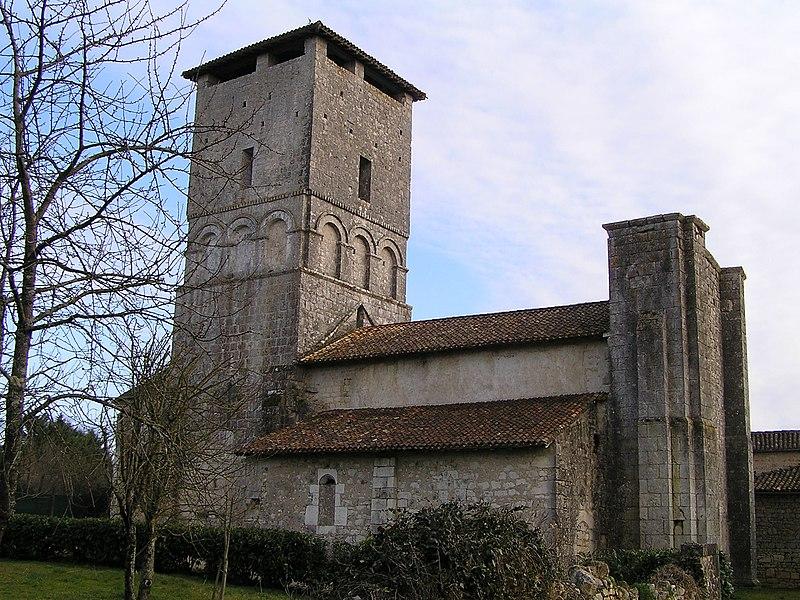 Photo du Monument Historique Eglise Saint-Paul situé à Chazelles