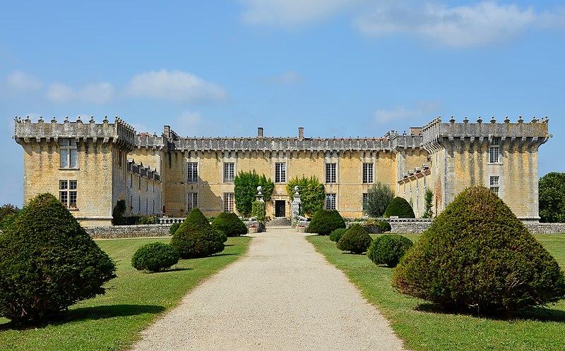 Photo du Monument Historique Château Chesnel situé à Cherves-Richemont