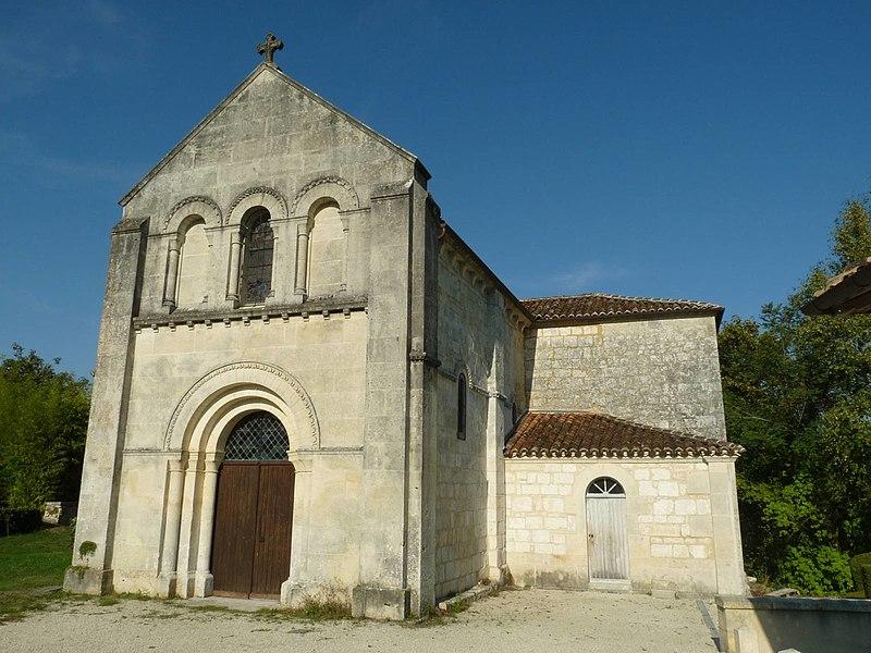 Photo du Monument Historique Eglise Saint-Georges de Richemont situé à Cherves-Richemont