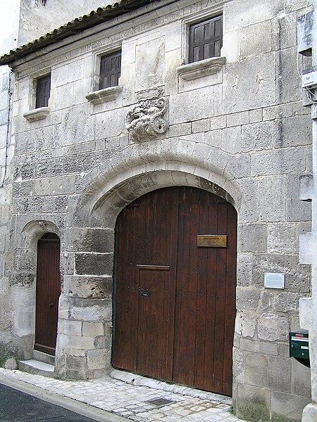 Photo du Monument Historique Maison dite de la Nourrice de François-Ier situé à Cognac