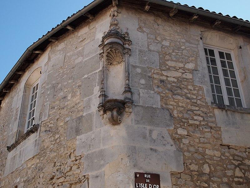 Photo du Monument Historique Maison situé à Cognac