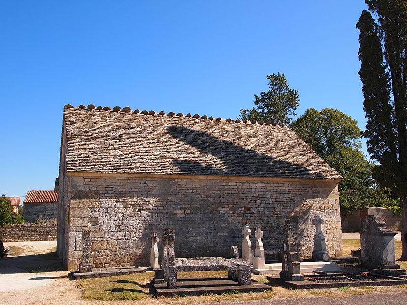Photo du Monument Historique Chapelle Saint-Antoine du cimetière situé à Courcôme
