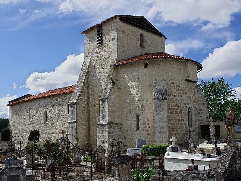 Photo du Monument Historique Eglise Saint-Etienne situé à Courgeac